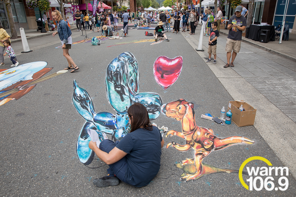 Pacific NW Chalk Fest at Redmond Town Center