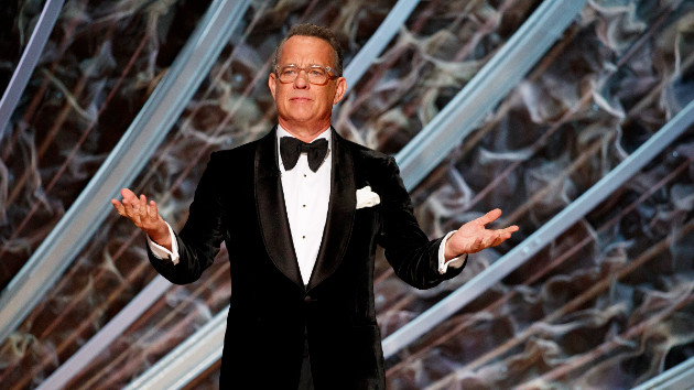 Tom Hanks gifts bullied boy named Corona with a typewriter and his friendship