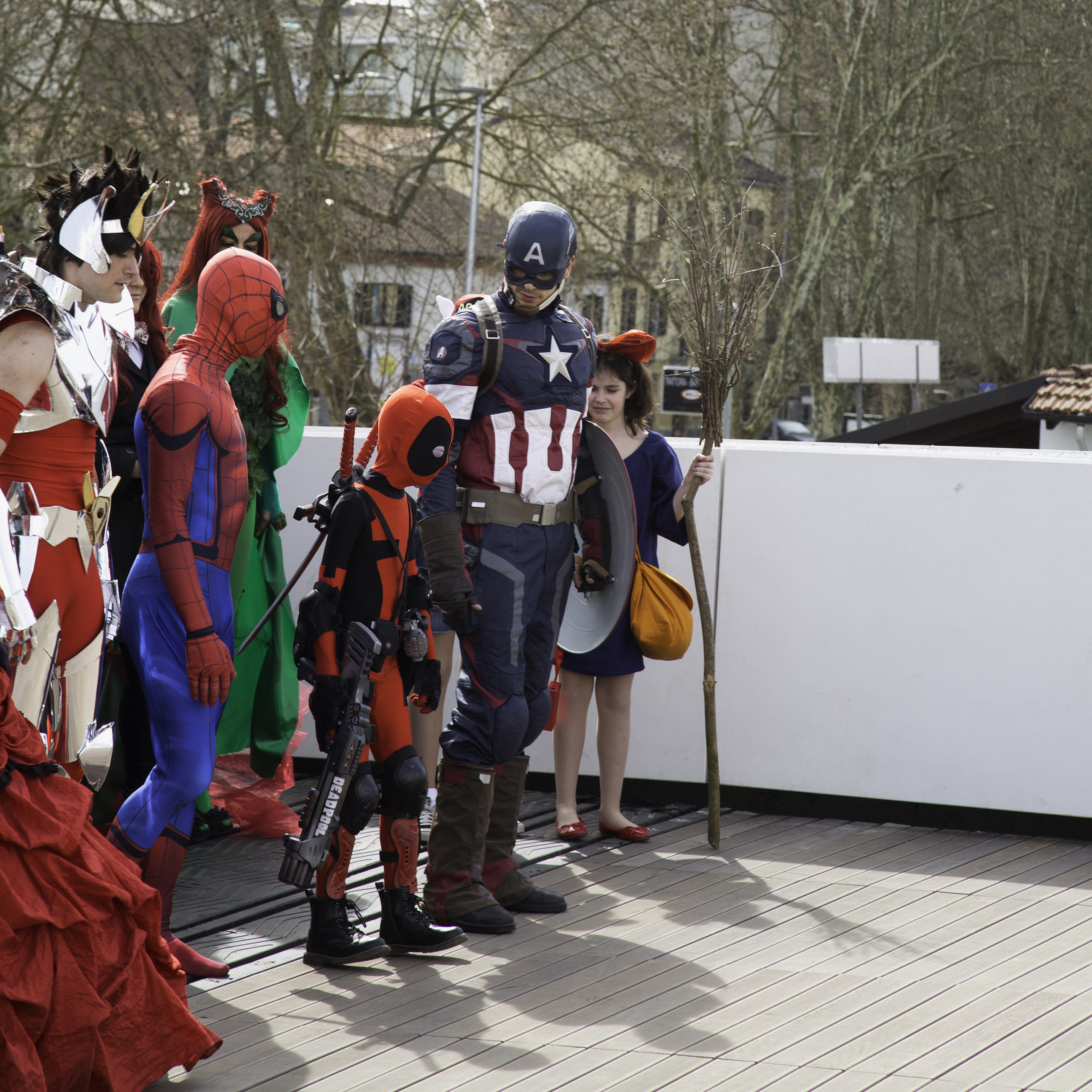 Alecomics Cosplayers For Commercial